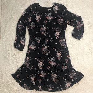 LOFT Flower Print Dress